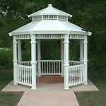 Basic Gazebo (11') with Extras (Spindles, Post Trim)