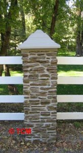 Ledgestone Stackable Pillar