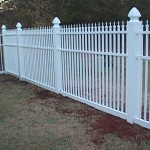 5' Ornamental Picket Fence