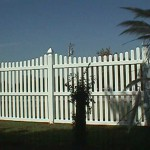 5.5' - 6' Scalloped Wide Picket Fence