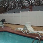 Panel Privacy Fence: 8' to 9'