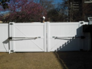 GATE - Solar Operated Double Privacy