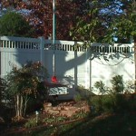 California Privacy Fence: 9'-7' Tapered Bottom