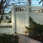 California Privacy Fence: Custom Stairstep