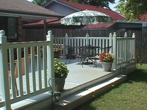 Deck Railing