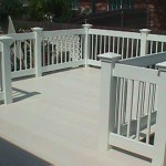 Porch Railing with Deck