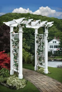 Fairfield Arbor with Trim Kit
