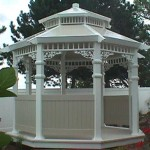 Grace Gazebo - 11' Two Tone
