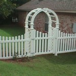 Nantucket Arbor with Custom Gate