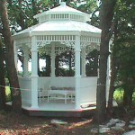Grace Gazebo 11' (Solid Panels)