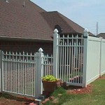 Ornamental / Panel Privacy Fence: 6'