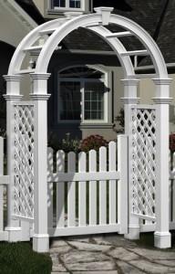 Nantucket Legacy with Cottage Picket Gate