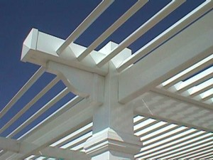 Pergola Custom Details