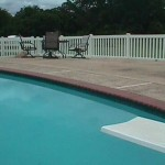 Pool Fence - 4' Wide Picket
