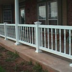 Porch Railing with 8