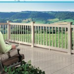 Porch Railing-Colonial in Pebblestone