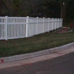 Semi-Private Fence 6' with Sign