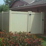 Almond Privacy with Walk Gate