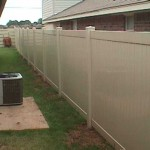 Almond Privacy Fence
