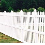 Open Narrow Picket Fence