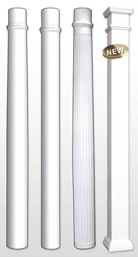 Porch Columns Midland Vinyl Products